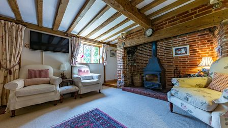 Although it has been well extended and updated, the property retains much of its original character