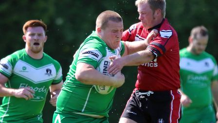 Tommy Newman scored one of the tries for St Ives Roosters. Picture: LEIGH CHATTEN