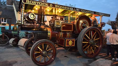 The showman's engine in Bassingbourn. Picture: Clive Flack