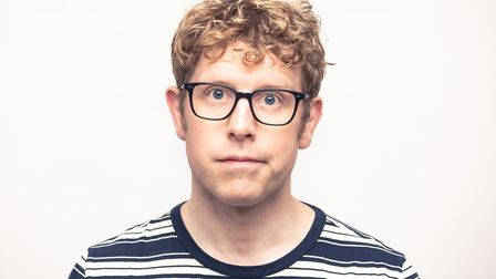 Josh Widdicombe brings his comedy show to the Hinchingbrooke Performing Arts Centre in Huntingdon