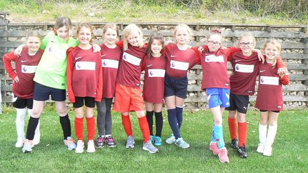 Brampton Village Primary School's team. Picture: SUBMITTED