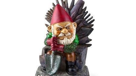 Game of Thrones? Game of Gnomes more like. Big Mouth Inc Game of Gnomes Garden Gnomes, available fro