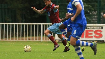 Martin Standen played for Welwyn Garden City against London Colney in 2016. Picture: MARK LONG