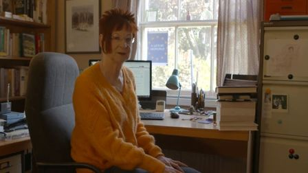Carol Hedges on the Channel 4 News mini-documentary. Picture: Channel 4