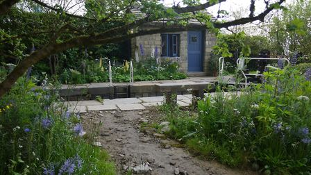 The Welcome to Yorkshire Garden at this year's Chelsea Flower Show. Picture: Debbie McMorran
