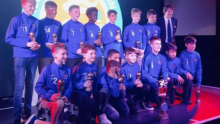 St Albans City Youth U13 Victoria were the winners of the Isle of Wight tournament.