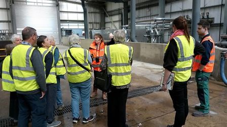 A tour of the Severn Trent Green Power North London AD Facility (formerly Agrivert). Picture: Submit