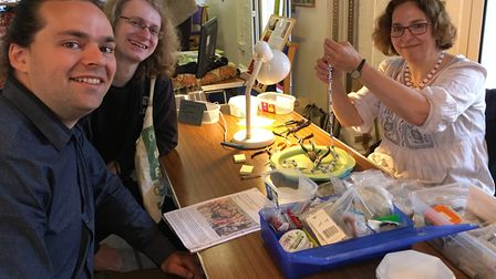 Jewellery repair at the St Luke's Upcycling fair. Picture: Submitted by Sustainable St Albans