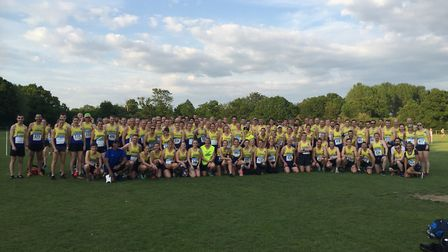 St Albans Striders prepare for their home round of the Midweek Road Race League.