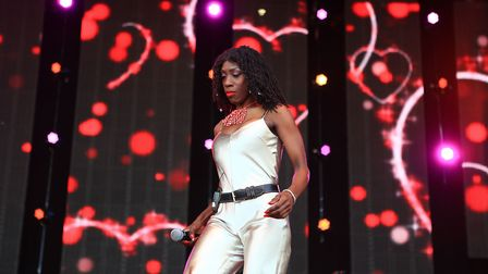 Heather Small at Cool Britannia Festival 2018. The singer will support Bananarama at Newmarket Night