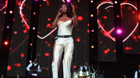 Heather Small at Cool Britannia Festival 2018. Picture: KEVIN RICHARDS