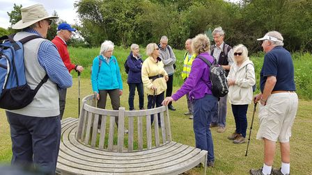 Sandridge Parish Council Symondshyde Walk. Picture: Submitted by St Albans Sustainability Festival