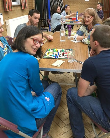 Table top board games and vegan buffet evening. Picture: Submitted by St Albans Sustainability Festi