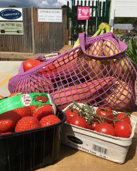 Carpenters Nursery has offered 10 per cent off fruit and vegetables. Picture: Submitted by St Albans