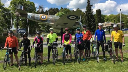Cycle Chilterns 60 mile bike ride from South Herts Cyclists. Picture: Submitted by St Albans Sustain