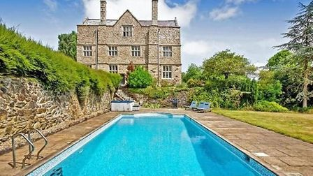 The 10-bed home in Christow, Exeter, has a guide price of £3.95m. Picture: Rightmove
