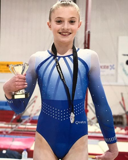 Phoebe Peacock of Cunningham Hill Junior School in St Albans.