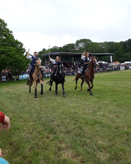 Atkinson Action Horses at Hertfordshire County Show. Picture: Ruth Berry