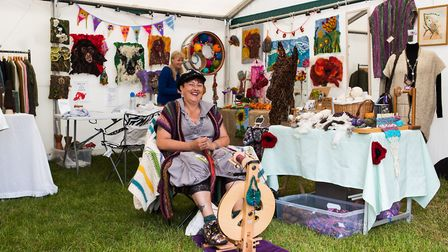 Local traders came to flog wares at Hertfordshire County Show. Picture: Richard Washbrooke