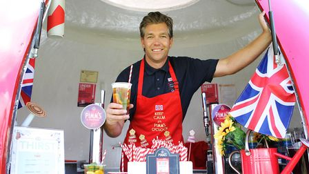 Herts County Show 2019 - James Passmore, Great Britain Events - Pimms.Picture: Karyn Haddon