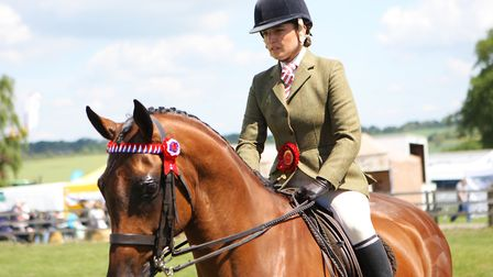 Herts County Show 2019 - Horse Riding Display.Picture: Karyn Haddon