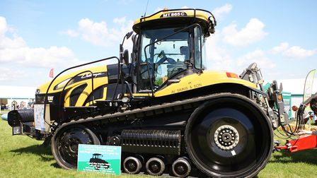 Herts County Show 2019 - Tractor Display.Picture: Karyn Haddon