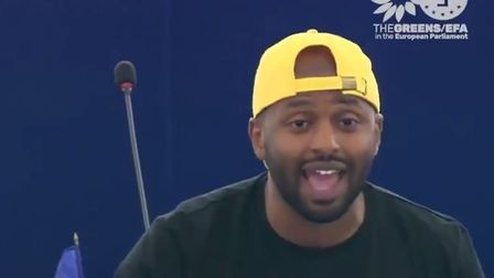 Green Party MEP Magid Magid has given an impassioned speech in defence of migration and against Ital