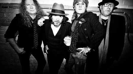 The Quireboys will be appearing live at Harpenden Public Halls. Picture: Tom Gold