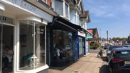 The Salon and The Fleetville Larder on Hatfield Road. Picture: Jane Howdle