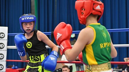 New Saints ABC talent Jon Doe in action. Picture: SUBMITTED