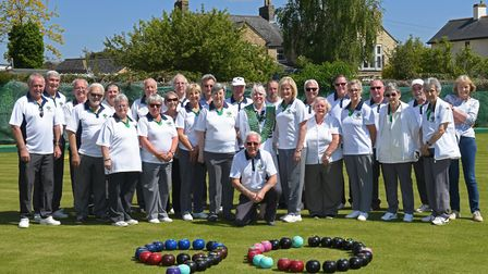 Celebrating the 90th anniversary of the Royal Oak Bowls Club, Godmanchester. Picture: ARCHANT