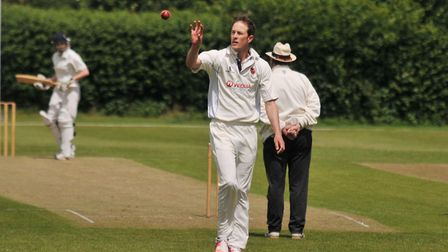 Kris Nissen was one half of a stunning fifth-wicket partnership as Shenley Village won at Leverstock