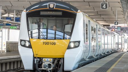 Thameslink trains are delayed at St Albans due to an electrical fault between Luton and Bedford. Pic