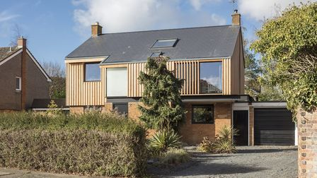 Scott says the larch cladding should last for 25 years. Picture: Matt Chisnall (www.mattchisnall.com