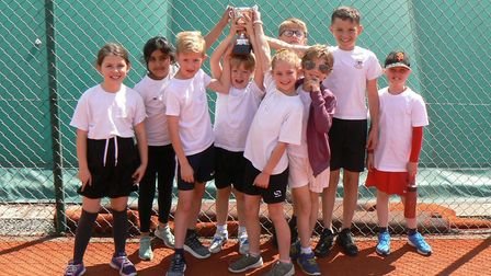 Westfield Junior School enjoyed success at the Mini Red Tennis Competition. Picture: SUBMITTED