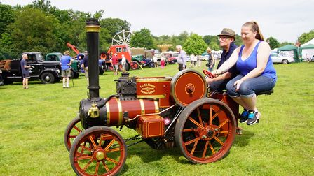 St Albans Steam and Country Show was held at Oaklands College's Smallford campus over the weekend. P