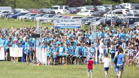 Last year's Royston in Blue almost £18,000 for the Teenage Cancer Trust.