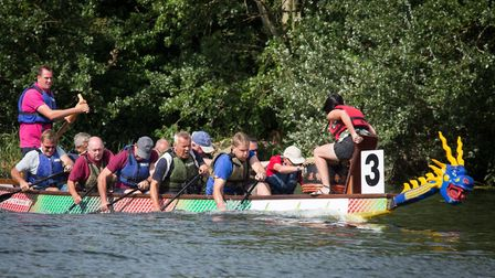 The St Neots Dragon Boat Race takes place on August 17
