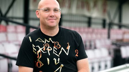 New Wisbech Town manager Seb Hayes. Picture: IAN CARTER