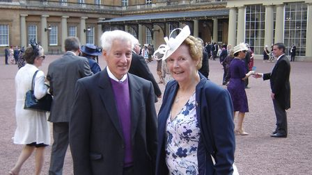 Robin Christoforou (SADTN treasurer) and Sue Fennell (SADTN secretary and also chair of St Albans Ma