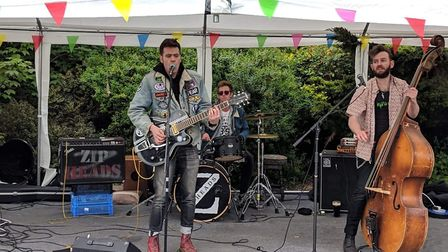 The Golden Clerics at FrankFest 2019 at The White Lion. Picture: Chloe Arlidge