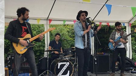 The Maida Vales at FrankFest 2019 at The White Lion. Picture: Jen Arlidge