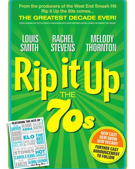 Rip It Up The 70s featuring Melody Thornton, Louis Smith, and S Club 7's Rachel Stevens will visit T