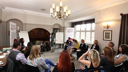 St Albans Business Festival 2019 - Mindful Leadership - photo by Spike Brown of Blue Feather Photogr