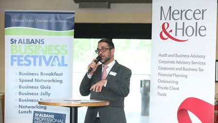 St Albans Business Festival 2019 - Business Breakfast - photo by Spike Brown of Blue Feather Photogr