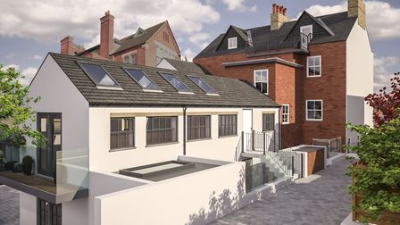CGI of 25c Alma Mews, Alma Road, St Albans. Picture: Clarence Property Group
