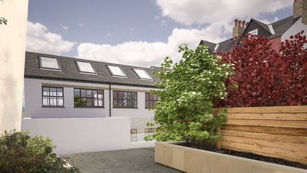 CGI of how 25c Alma Mews, Alma Road, St Albans will look. Picture: Clarence Property Group
