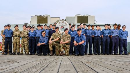 The St Albans Sea Cadets are looking for volunteers. Picture: PO Richard Harvey