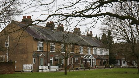 Some of Caddington's period homes. Picture: Danny Loo