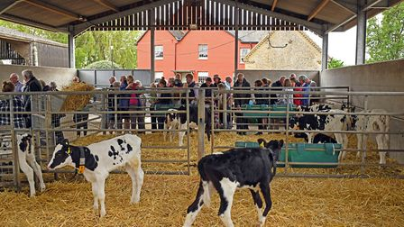 Rogationtide walk around Gaynes Farm, in Great Staughton. Picture: ARCHANT
